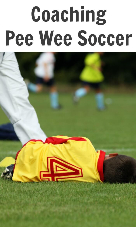 Coaching Pee Wee Soccer