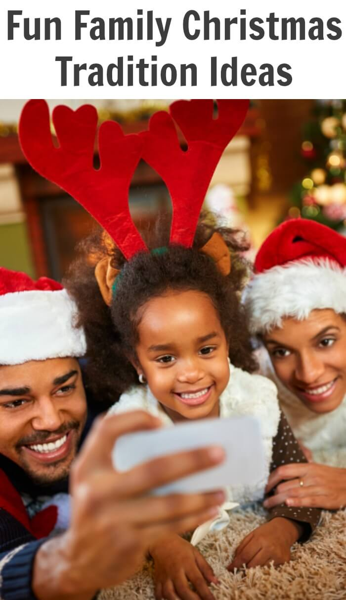 That includes the fun Family Christmas traditions ideas that we do every year, and the new traditions that we create together as a family.
