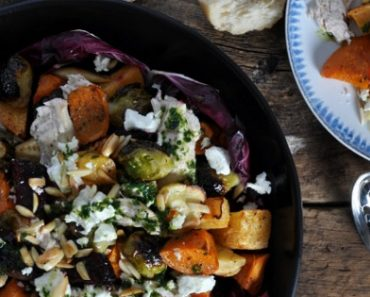 Warm Turkey And Root Vegetable Salad Recipe
