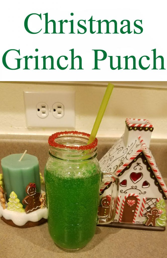 One of my favorite holiday movies is Dr. Seuss' How the Grinch Stole Christmas. So, when I came across this Christmas Grinch Punch recipe, I couldn't resist.