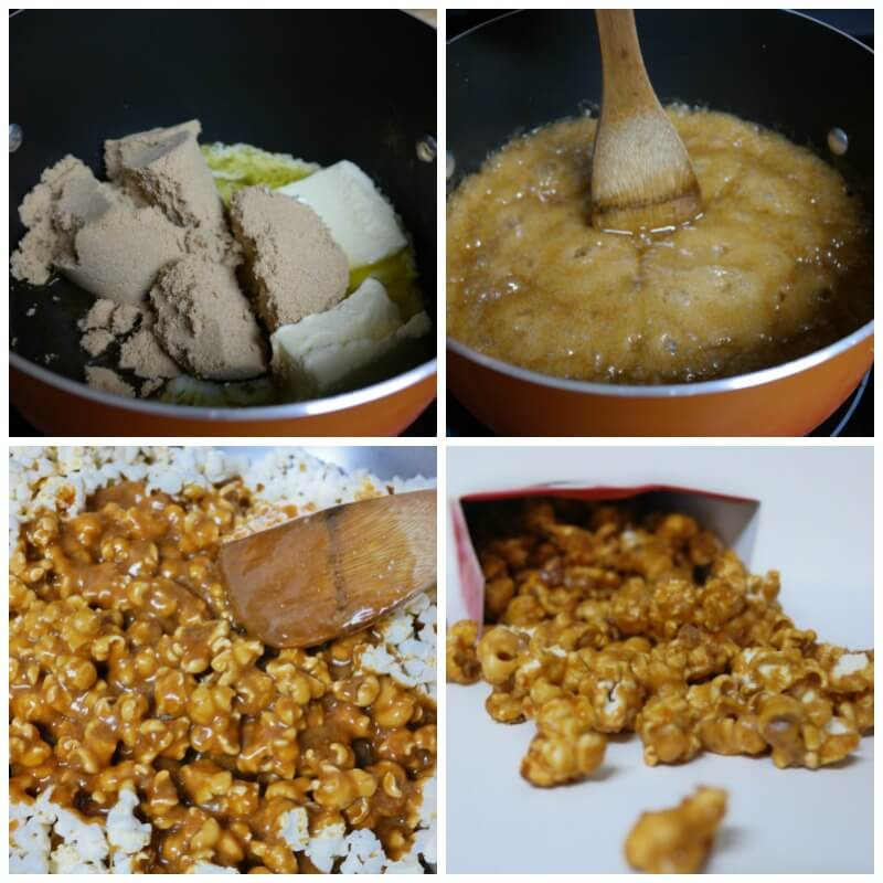 Homemade Caramel Popcorn Recipes