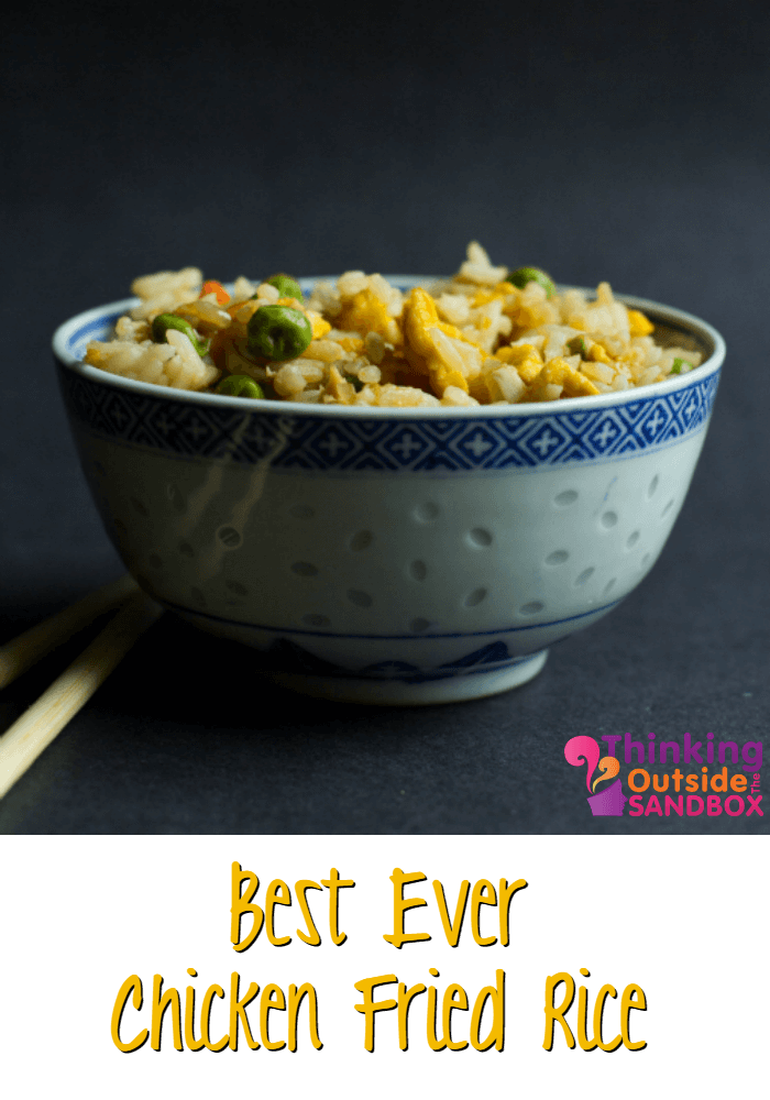 TOTS Family, Parenting, Kids, Food, Crafts, DIY and Travel TOTSChickenFriedRice Best Ever Homemade Chicken Fried Rice Recipe Food Miscellaneous Recipes TOTS Family  side recipe food Chicken Fried Rice