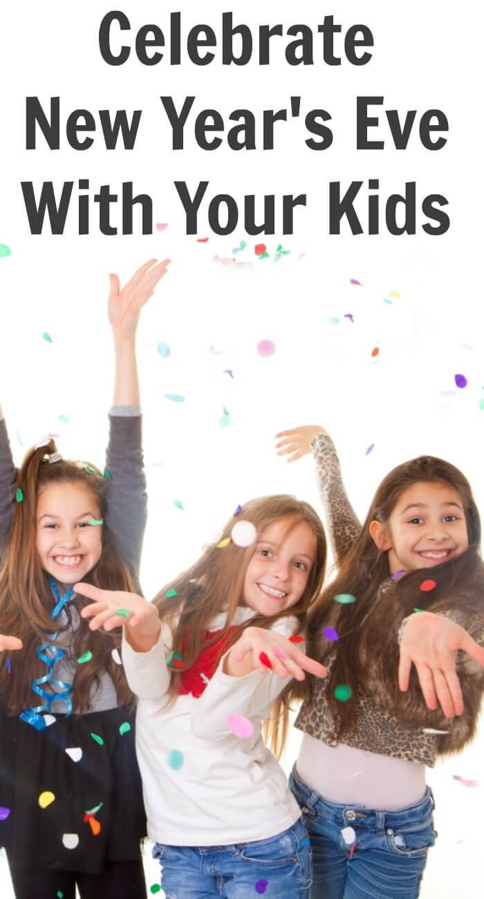 Celebrating New Year's Eve with your Kids can be a big deal, not just for adults but it can for your kids too.