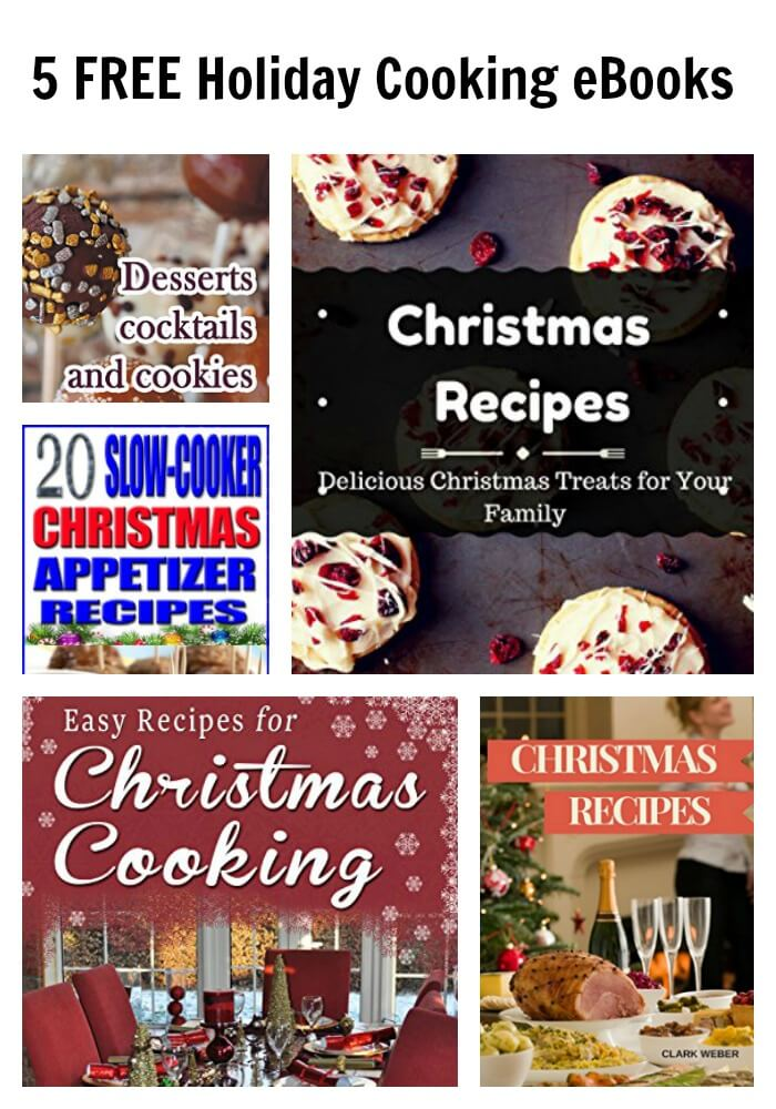5 FREE Holiday Cooking eBooks