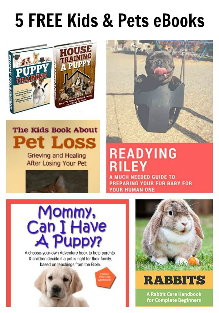 5 FREE Kids & Pets eBooks