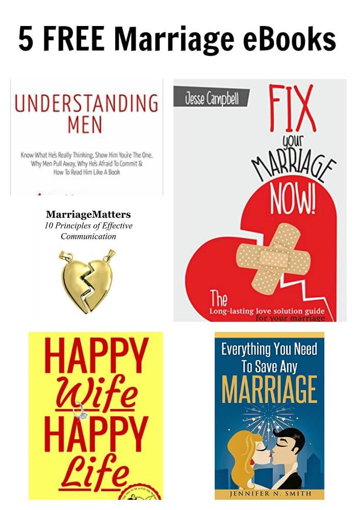 5 FREE Marriage eBooks