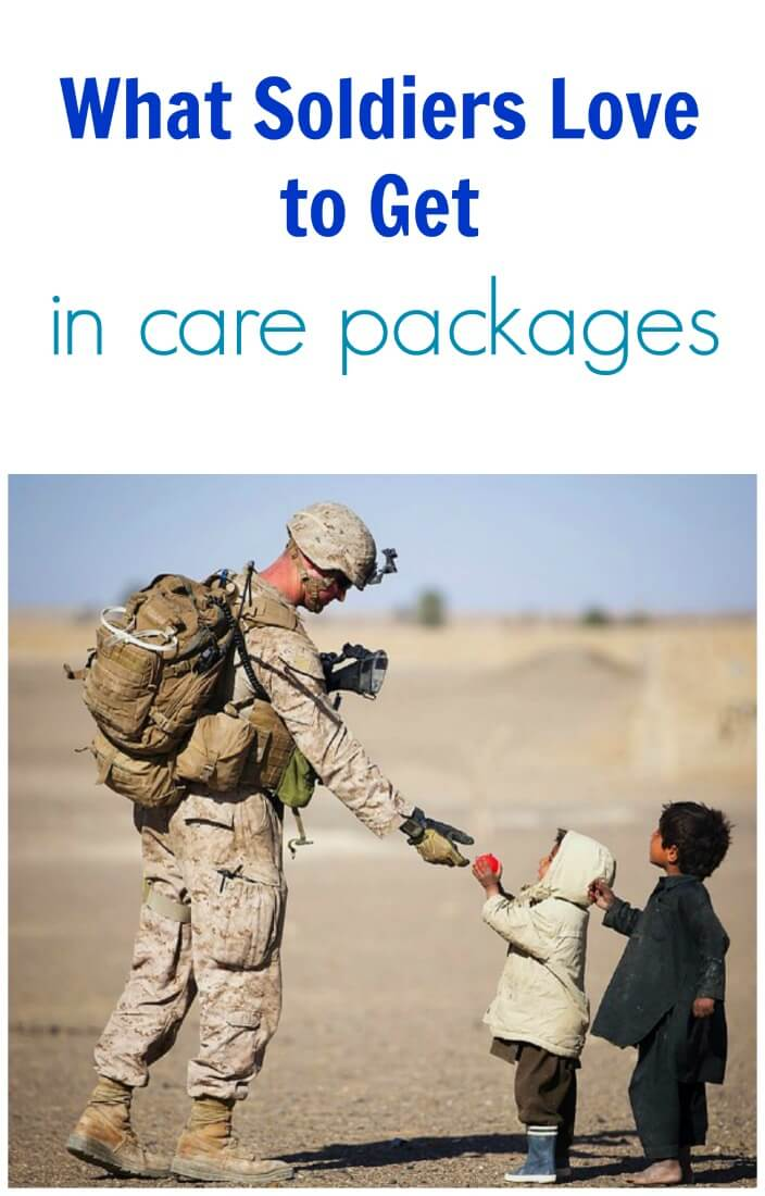 What Soldiers Love To Get In Care Packages