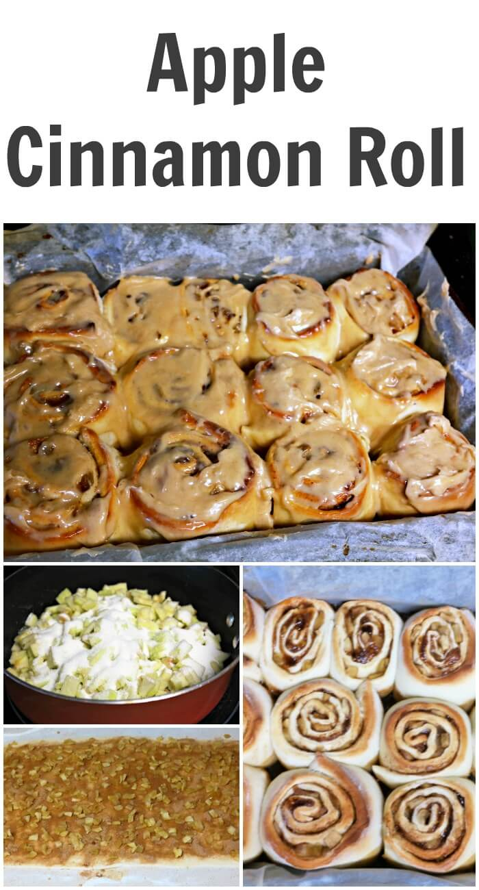 Apple Cinnamon Roll Recipe