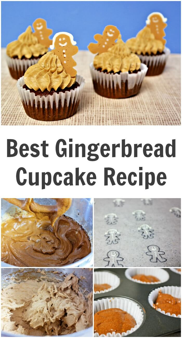 TOTS Family, Parenting, Kids, Food, Crafts, DIY and Travel Best-Gingerbread-Cupcake-Recipe Best Gingerbread Cupcake Recipe Desserts Food TOTS Family  treats snack kids gingerbread cupcakes gingerbread cupcakes