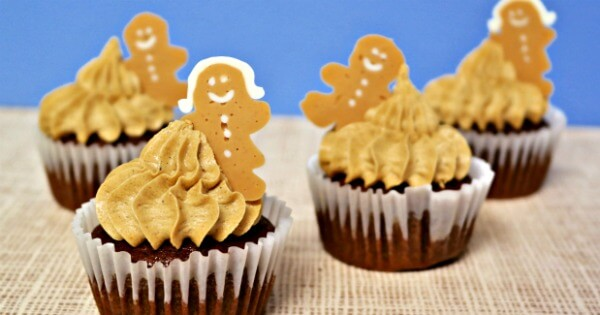 TOTS Family, Parenting, Kids, Food, Crafts, DIY and Travel Best-Gingerbread-Cupcakes-Recipe Best Gingerbread Cupcake Recipe Desserts Food TOTS Family  treats snack kids gingerbread cupcakes gingerbread cupcakes