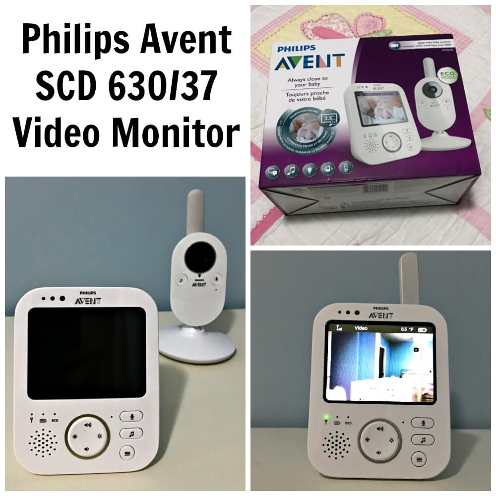 TOTS Family, Parenting, Kids, Food, Crafts, DIY and Travel Philips-Avent-SCD-63037-Video-Monitor- How the Right Baby Monitor can Help you this Year Parenting Sponsored TOTS Family  video monitor philips baby monitor avent
