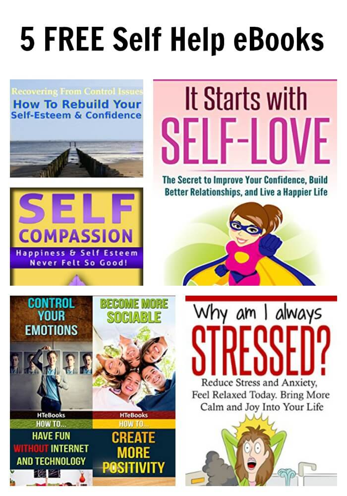 5 FREE Self Help eBooks