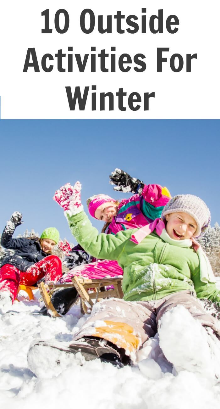 Outside activities for Winter can be difficult with how cold it gets in the prairies, when the temperatures come up for any amount of time and we are able to get back outside, we like to make sure to make the most of it, who knows when it will be warm enough to play outside again.