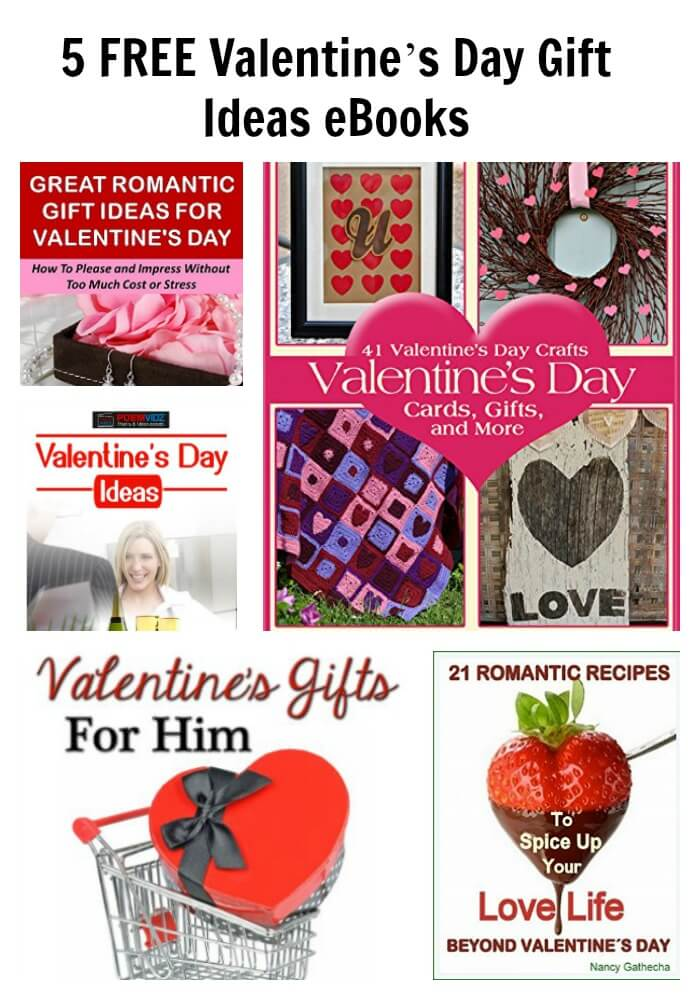 5 FREE Valentine's Day Gift Ideas eBooks