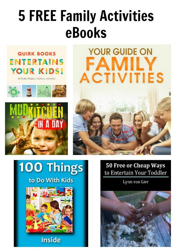 5 FREE Family Activities eBooks
