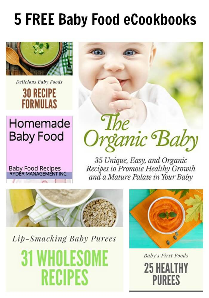 5 free baby food ecookbooks tots family parenting kids food if you are looking to make your own baby food you will not want to miss out on any of these great freebies right now on amazon you can download these forumfinder