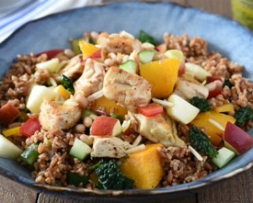 TOTS Family, Parenting, Kids, Food, Crafts, DIY and Travel Turkey-Apple-and-Kale-Grain-Salad-370x297 How to Prepare a Tasty and Nutritious Meal for your Family Breads/Soups/Salads Food Main Dish Sponsored TOTS Family  canadian turkey