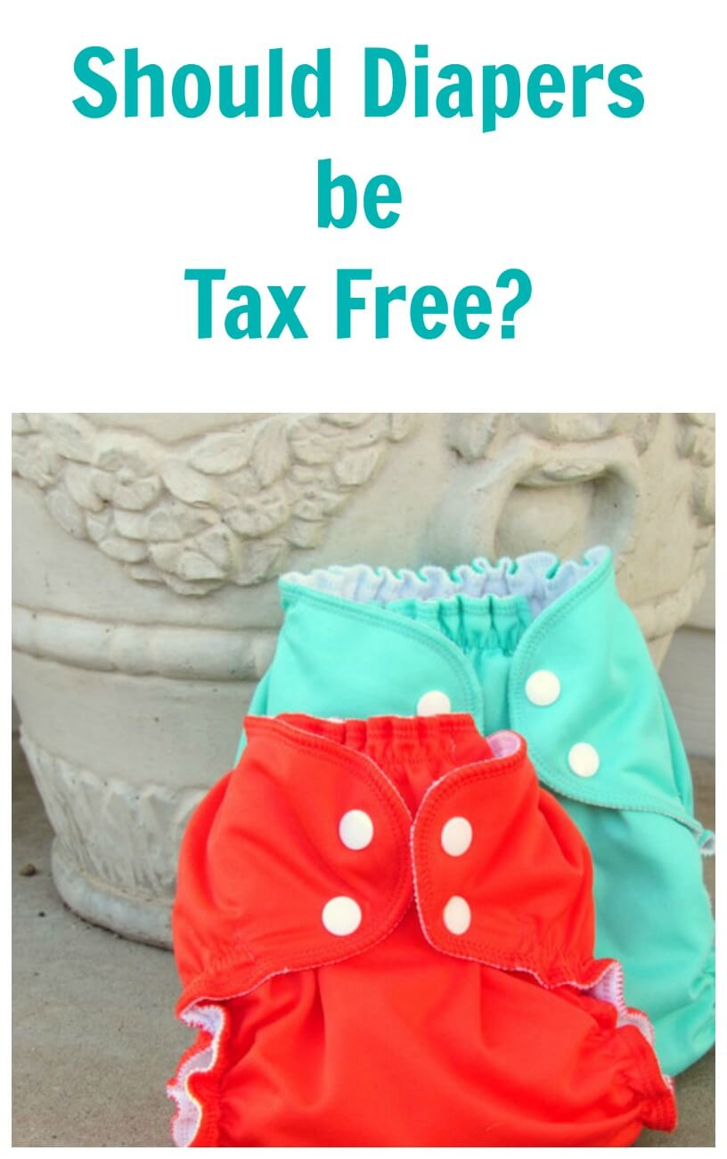 TOTS Family, Parenting, Kids, Food, Crafts, DIY and Travel taxfree Should Your Baby's Diapers Be Tax Free? Kids Parenting TOTS Family  diapers