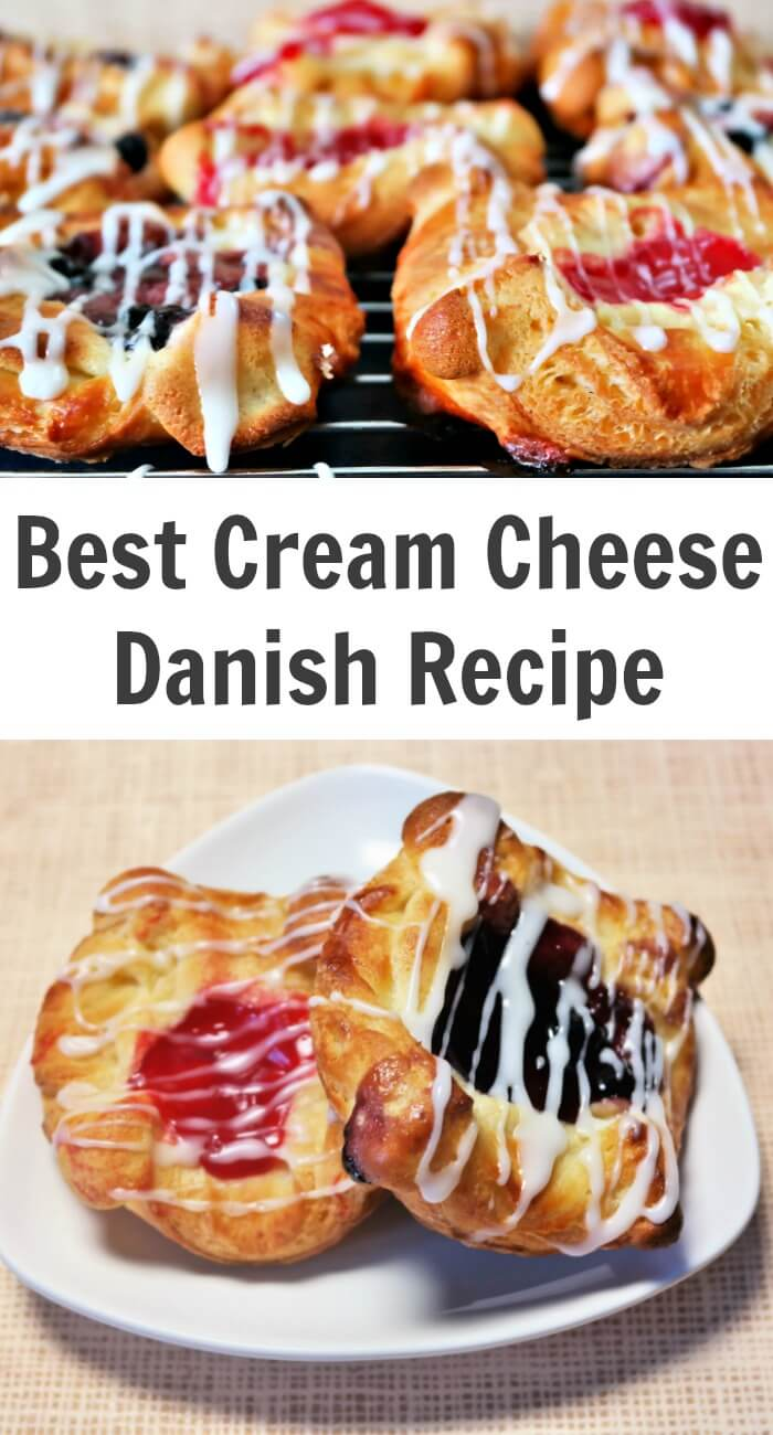 Best Cream Cheese Danish Recipe