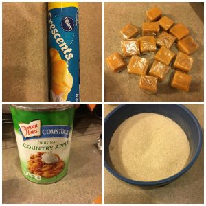 TOTS Family, Parenting, Kids, Food, Crafts, DIY and Travel CaramelApplePieIngredients-300x300 Easy Mini Caramel Apple Pie Recipe Desserts Food TOTS Family  tots family fall easy recipe dessert caramel Apple Pie Anytime