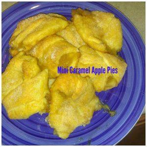 Easy Mini Caramel Apple Pie Recipe