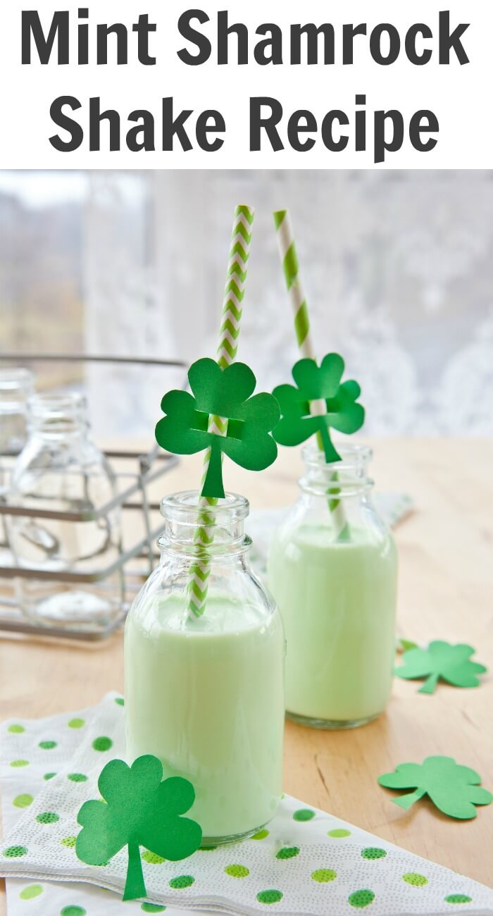 TOTS Family, Parenting, Kids, Food, Crafts, DIY and Travel Mint-Shamrock-Shake-Recipe Mint Shamrock Shake Recipe Drinks Food Miscellaneous Recipes TOTS Family  St. Patrick's Day Shamrock Milk Shake Lucky Leprechaun drink