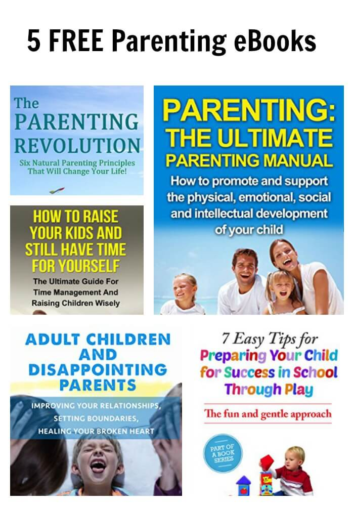 5 FREE Parenting eBooks