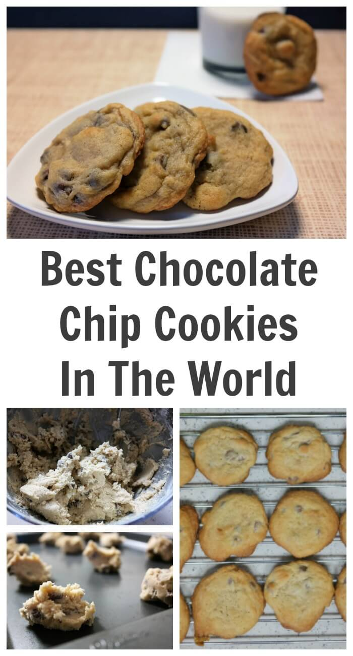 TOTS Family, Parenting, Kids, Food, Crafts, DIY and Travel The-Best-Chocolate-Chip-Cookies-In-The-World The Best Chocolate Chip Cookies In The World Desserts Food TOTS Family  snack cookies chocolate chips chocolate chip cookies beginner recipe