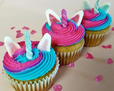 Adorable Unicorn Cupcakes Decorations