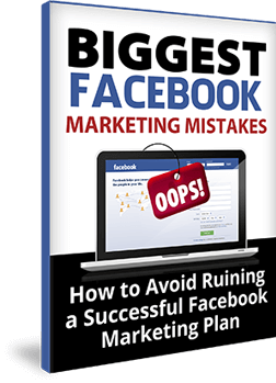 Free eBook download Biggest Facebook Marketing Mistakes -  You are leaving a Ton of money on the table if you make these mistakes.