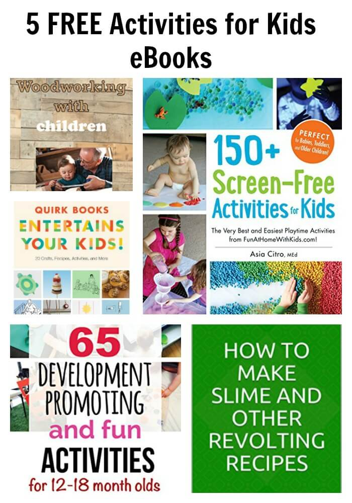 5 FREE Activities for Kids eBooks