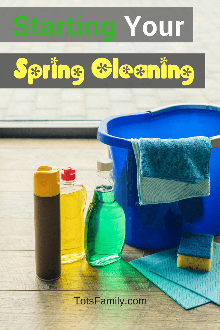 Welcome Spring and the weather that you bring which makes me think of starting your spring cleaning!