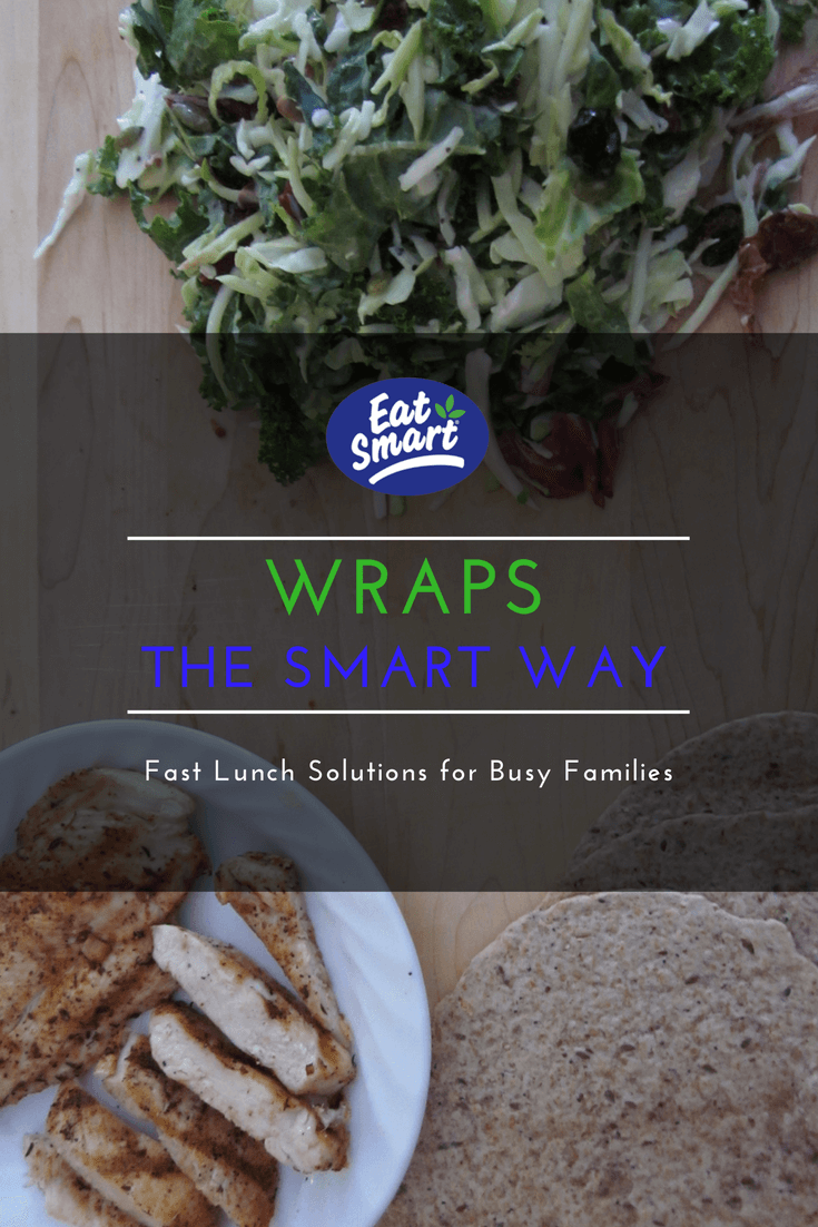 TOTS Family, Parenting, Kids, Food, Crafts, DIY and Travel Eat-Smart-Wraps Fast Lunch Solutions the Smart Way Breads/Soups/Salads Food Main Dish Sponsored TOTS Family  Quick Lunch Lunch Salad lunch idea lunch healthy eating healthy Gourmet Salads