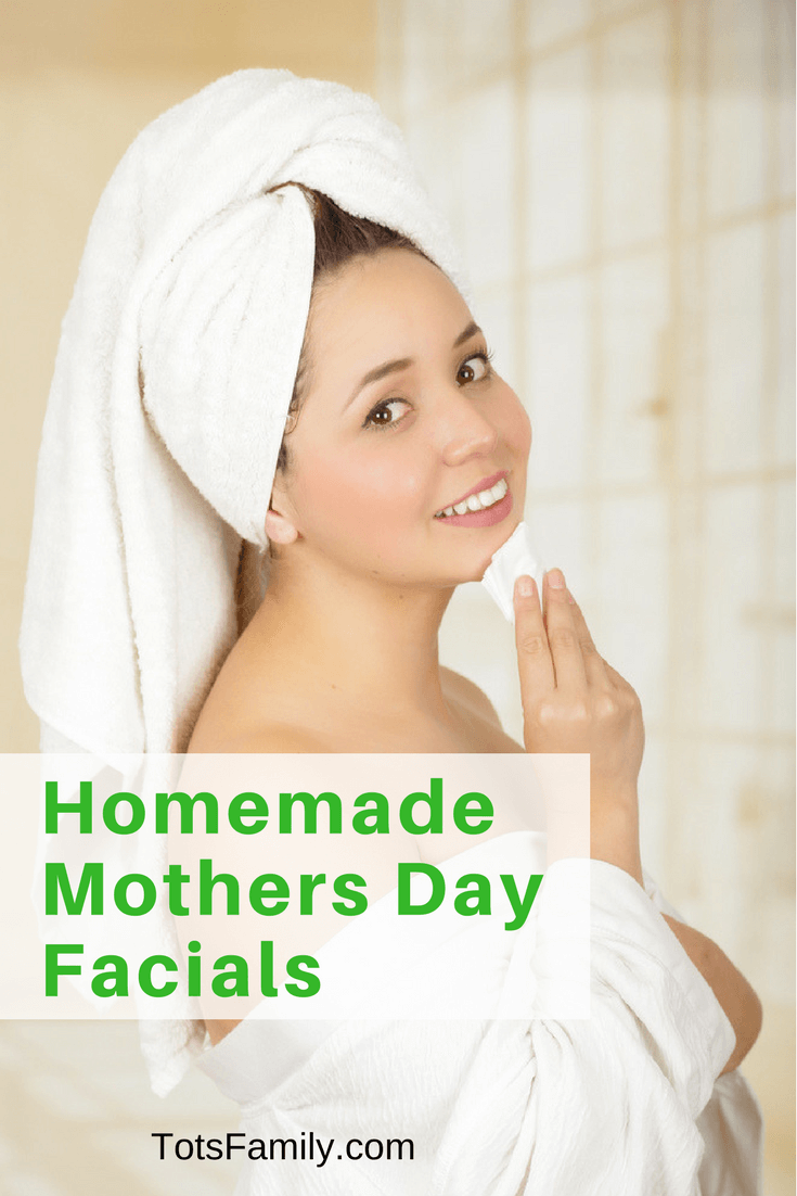 Now it's time for the fun stuff. Making your very own Homemade Mothers Day Facials!