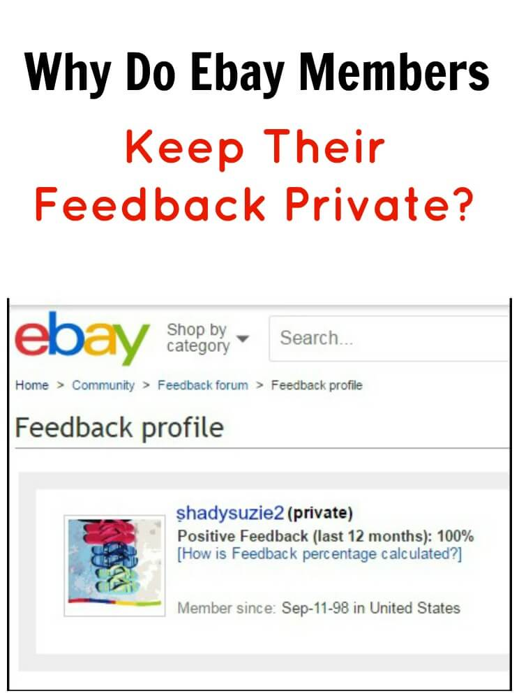 Why Do Ebay Members Keep Their Feedback Private Tots Family Parenting Kids Food Crafts Diy And Travel
