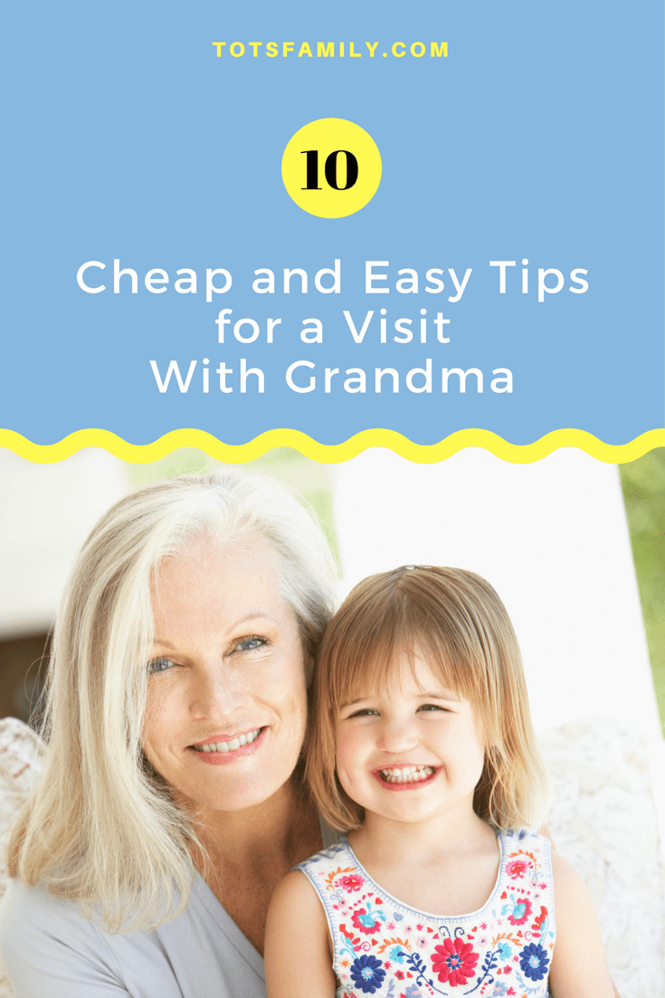 In preparation for a visit we came up with 10 Activities for A Week at Grandma's