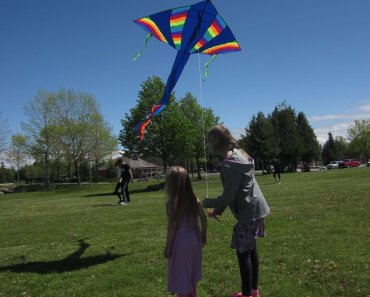 """Let's Go Fly a Kite"" When was the last time you flew a Kite? I can't remember so shame on me. I do remember complaining to my Dad that ""there's nothing to do""."