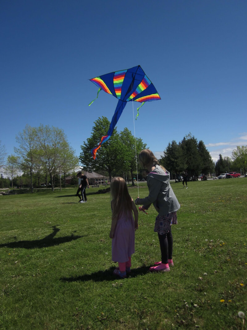 "I do remember complaining to my Dad that ""there's nothing to do"". The response I got was ""Let's Go Fly a Kite""."