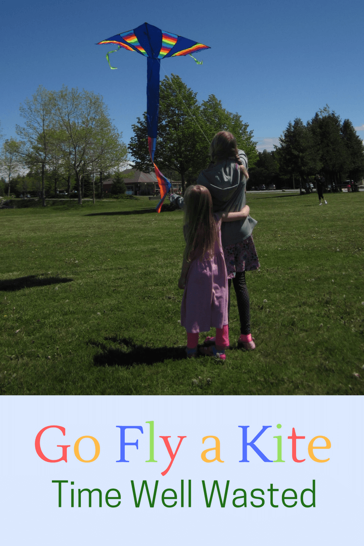 Let's Go Fly a Kite - Today is a Good Day So here I am having made a commitment to find an activity that fit our mandate to unplug and do something quiet.
