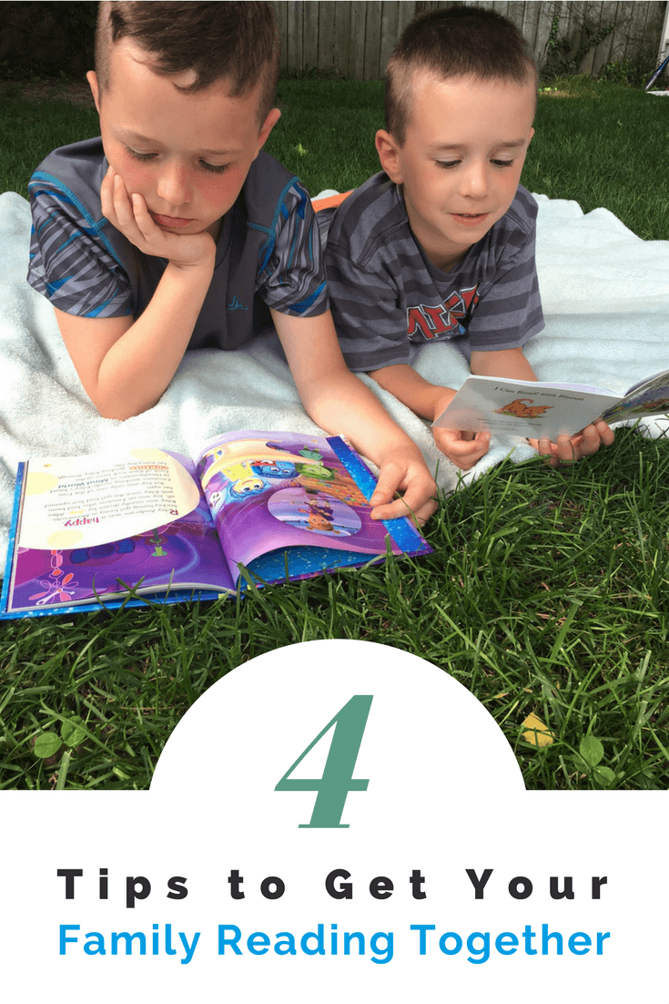 4 Tips to get Your Family Reading Together Are you looking for something to do with the kids this summer?