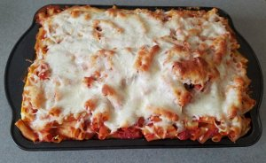 TOTS Family, Parenting, Kids, Food, Crafts, DIY and Travel 20170522_175027-300x184 Easy Baked Ziti Food Main Dish TOTS Family  Ziti pasta Baked Ziti