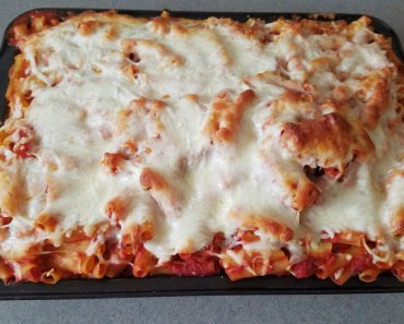 TOTS Family, Parenting, Kids, Food, Crafts, DIY and Travel 20170522_175027-370x297 Easy Baked Ziti Food Main Dish TOTS Family  Ziti pasta Baked Ziti