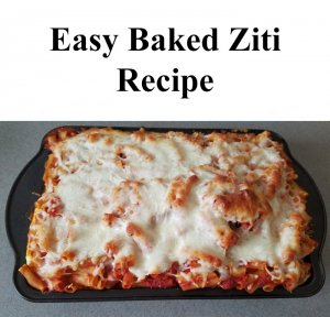 TOTS Family, Parenting, Kids, Food, Crafts, DIY and Travel Easy-Baked-Ziti-Recipe-300x288 Easy Baked Ziti Food Main Dish TOTS Family  Ziti pasta Baked Ziti
