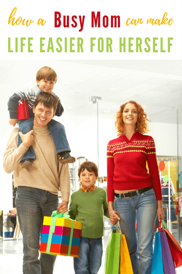 I'm a busy mom of five. When I describe our lifestyle, it is always busy. So I am always interested to learn How a Busy Mom can make Life Easier for Herself.