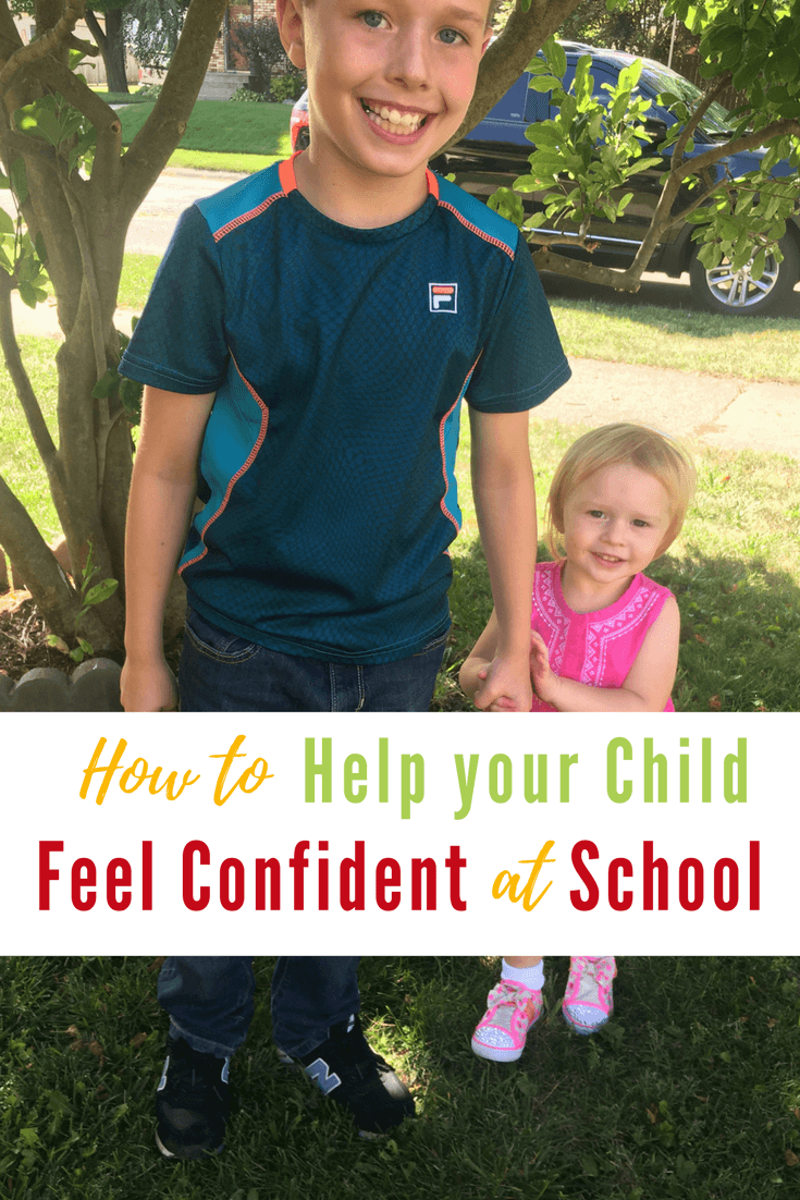 Here are some tips How to Help your Child Feel Confident at School.