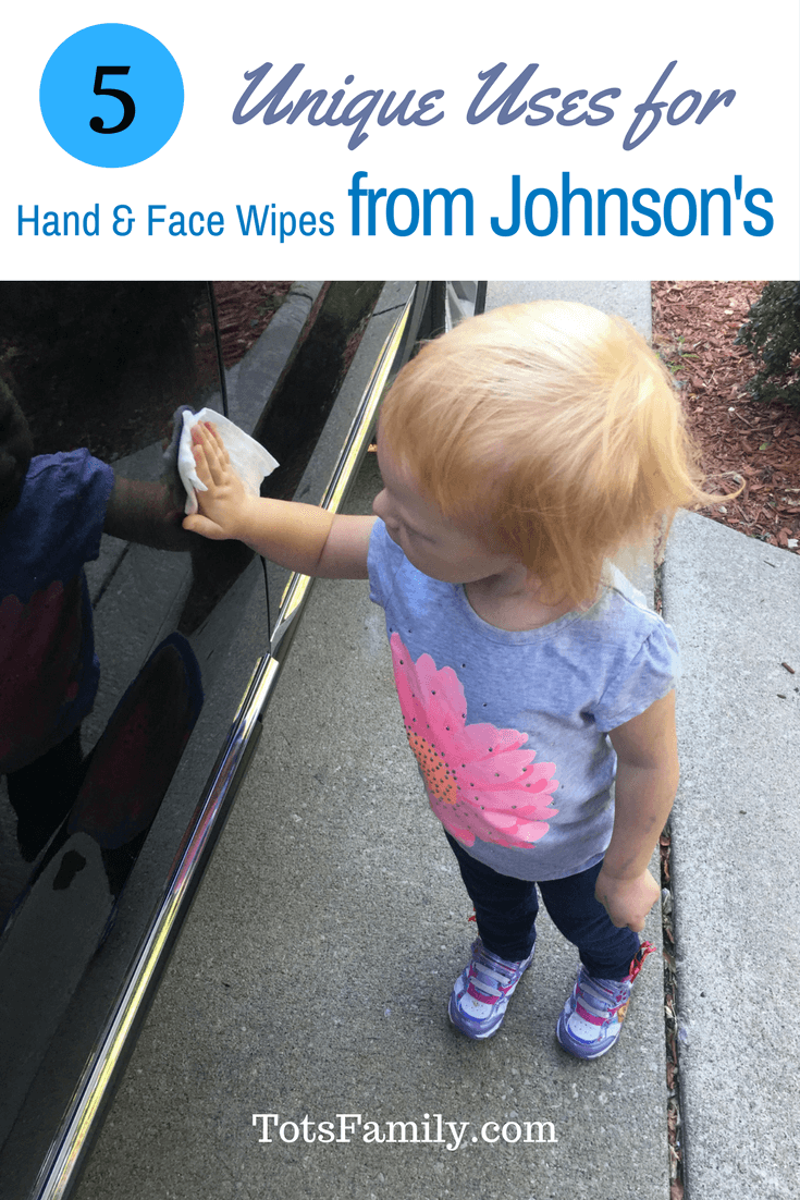 5 Unique Uses for Hand & Face Wipes from Johnson's