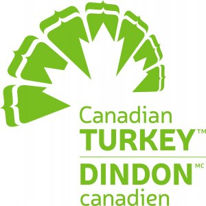 Canadian Turkey Bilingual Logo