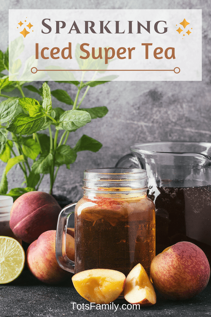 TOTS Family, Parenting, Kids, Food, Crafts, DIY and Travel Sparkling-Iced-Super-Tea Benefits of Tetley Tea Drinks Food Miscellaneous Recipes TOTS Family  tea bag tea Iced Tea
