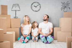 TOTS Family, Parenting, Kids, Food, Crafts, DIY and Travel bigstock-Family-New-Home-Moving-Day-Hou-175019413-300x200 How to let Everyone Know you Bought a New House Home  New Home