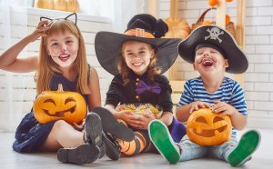 TOTS Family, Parenting, Kids, Food, Crafts, DIY and Travel bigstock-Happy-brother-and-two-sisters-147133931-300x186 Halloween Shows for Kids and Adults on Netflix Kids Parenting TOTS Family Uncategorized  tv halloween